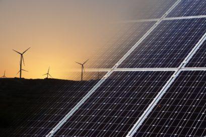 regenerative Energien Solar und Windkraft